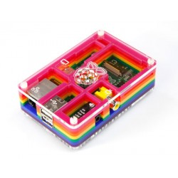 Rainbow Case for Raspberry Pi