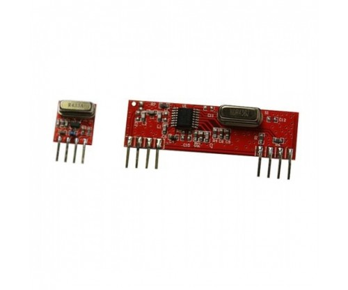 RF Wireless Transmitter Receiver Kit Module 433Mhz